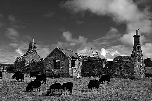 Paible, Island of North Uist, Outer Hebrides. - North Uist
