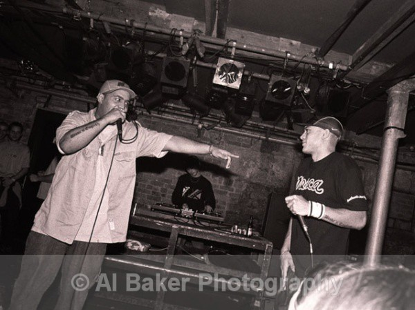 18 broke-n-english - Rodney P & Skitz @ sankeys  28.11.02