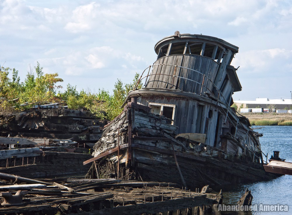Boat salvage junk yard pokemon go search for tips for Outboard motor salvage yard