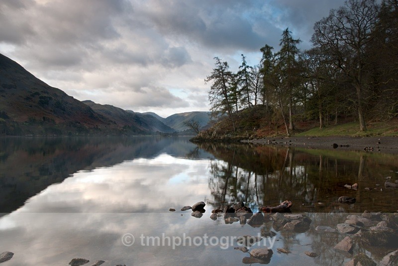 Looking down Ullswater. - Lakedistrict