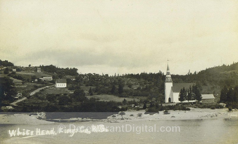 Whitehead, Kings County, New Brunswick Canada RPPC - Historic New Brunswick
