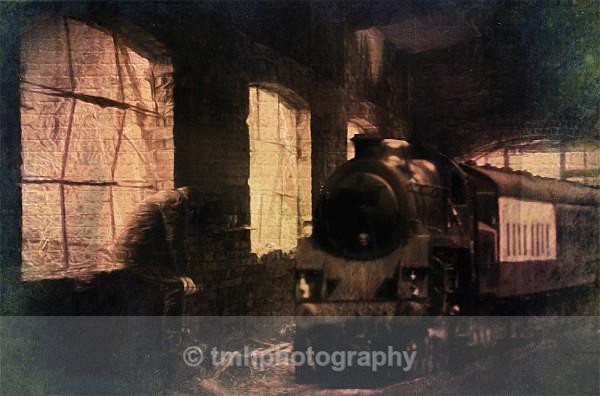 Ghost Train - Digital Photo's Enhanced