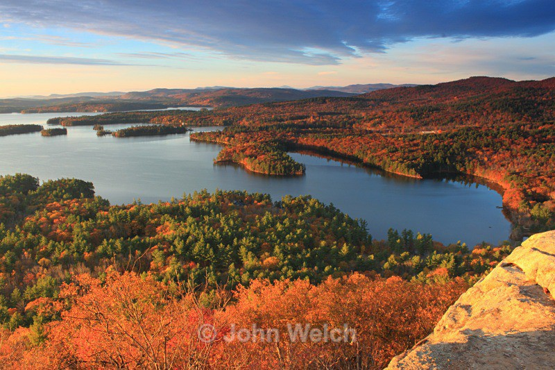 Golden Hour on Golden Pond - Fall Foliage Season Transitions
