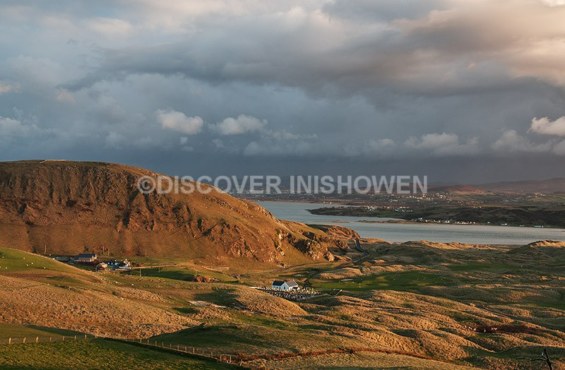 Evening at Lagg - Inishowen peninsula