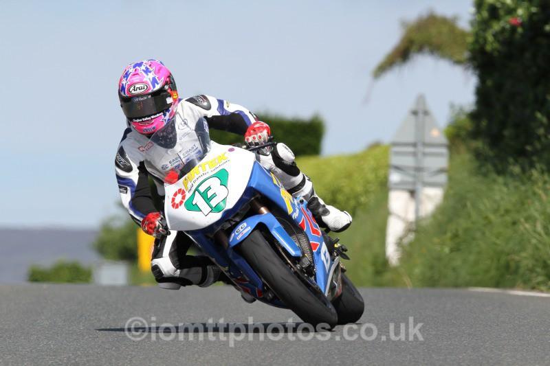 Lee Johnston Kawasaki / ECC / Pirtek Racing Honda - Bikenation Lightweight TT