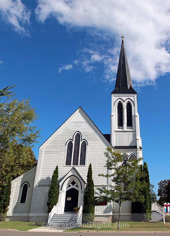 Saint Andrew's Catholic Church ~ St. Andrews , New Brunswick Canada - Churches of New Brunswick