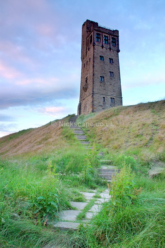 Victoria Tower Castle Hill Huddersfield - Yorkshire - Yorkshire