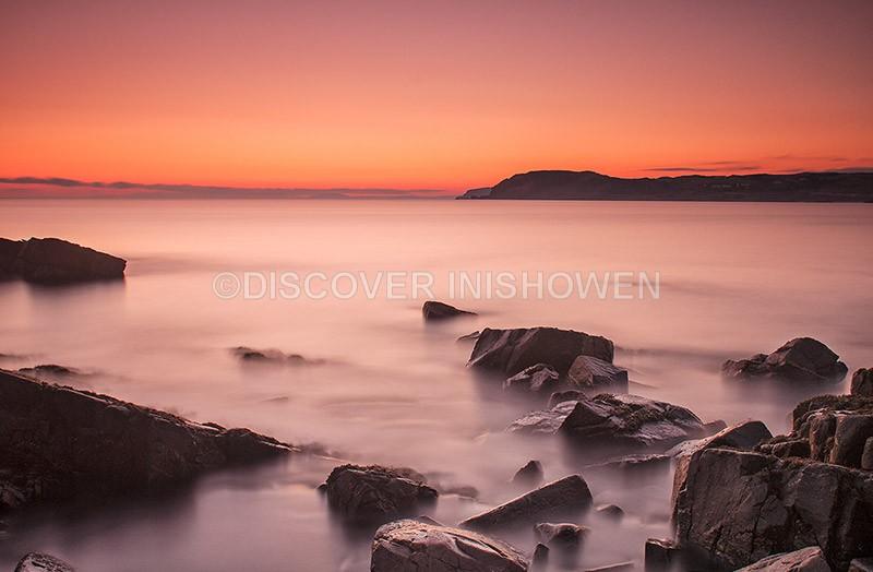 Dawn at Culdaff Bay - Nature