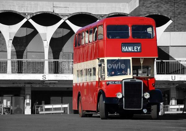 Hanley Bus - Potteries Images