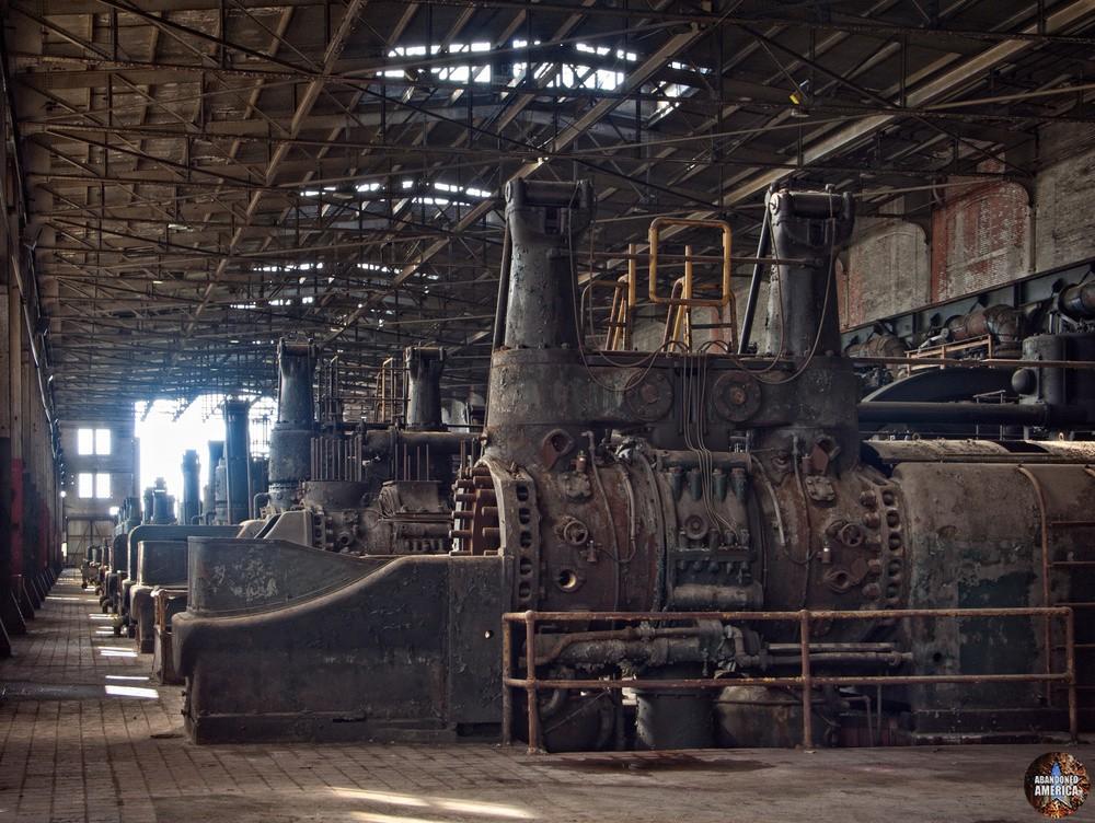 Bethlehem Steel (Bethlehem, PA)   Gas Blowing Engines - Bethlehem Steel