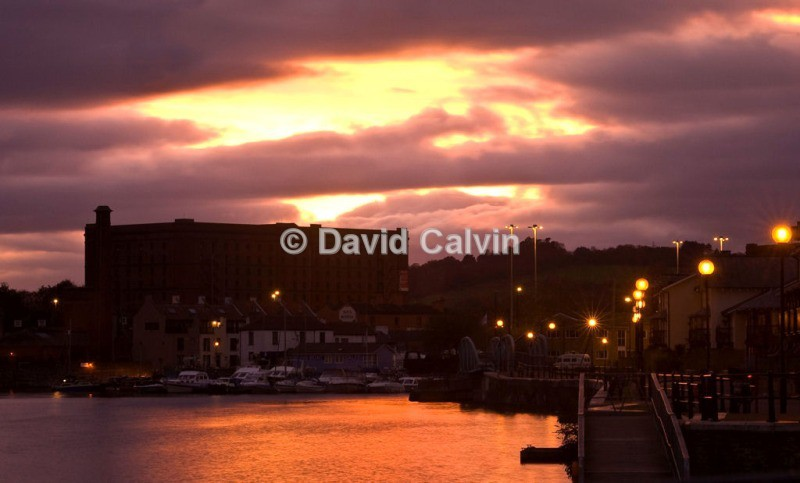 Hotwells At Sunset - Bristol Harbourside