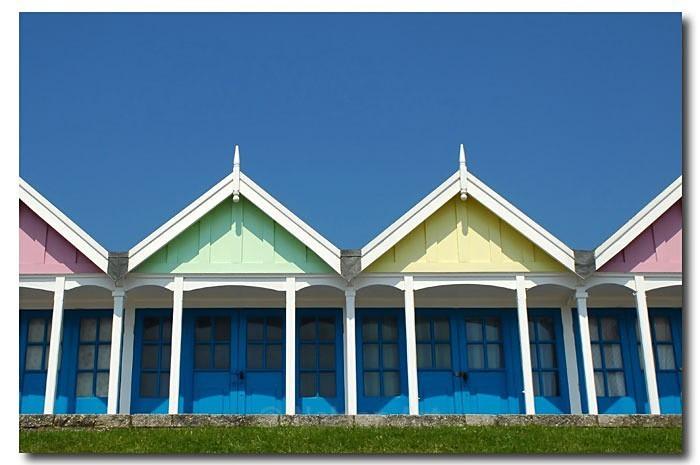 Beach Huts - Architecture