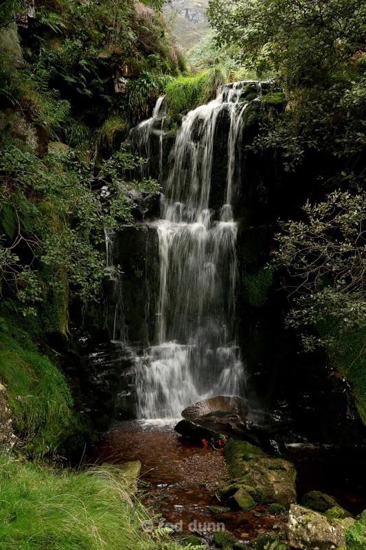 Blackden Brook Upper Fall - Peak District