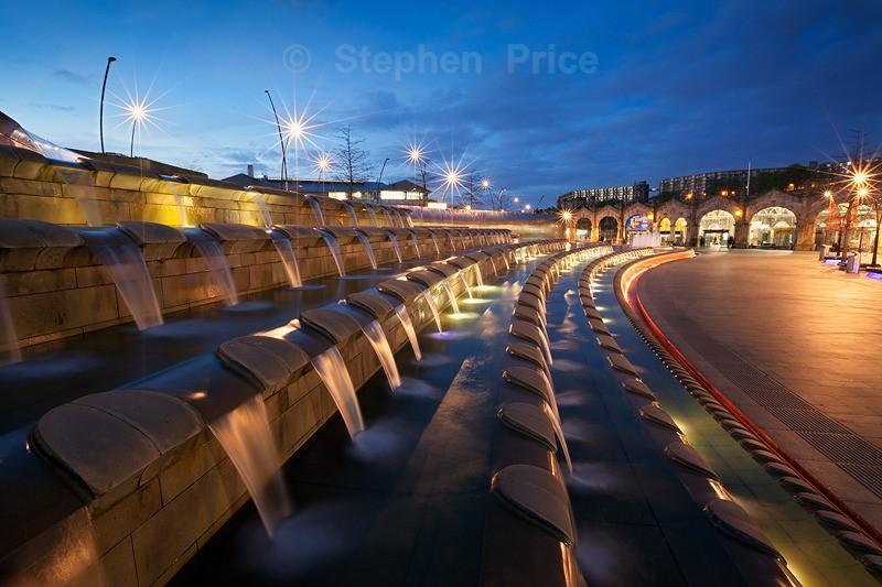 Sheffield Station Night Photo | Sheffield City Centre