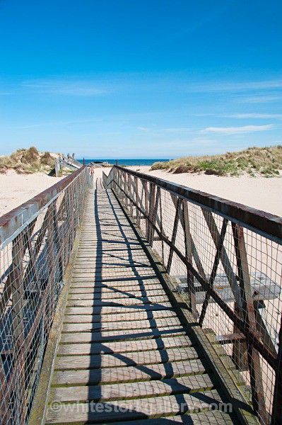Wood Bridge to Lossiemouth Beach - Scottish Highlands