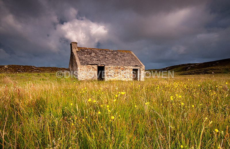 Old cottage, Malin Head - Inishowen peninsula