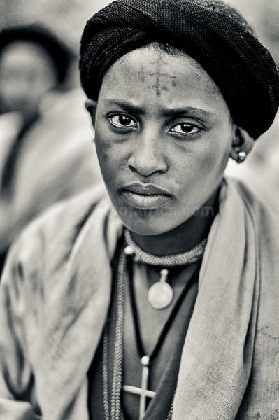 Child Bride, Amhara, Ethiopia