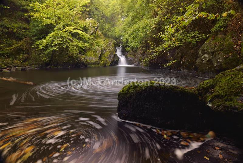 Devil's Glen Waterfall